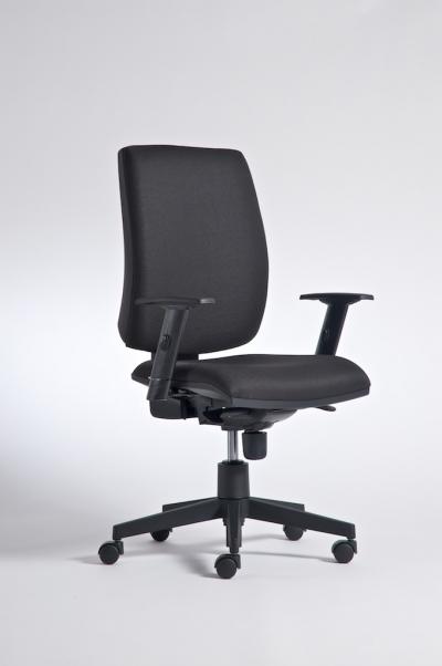 Židle ALFA 730 kancelářská otočná černá