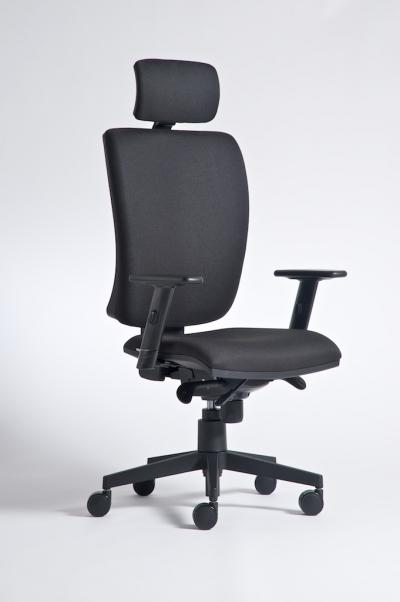 Židle ALFA 740 kancelářská otočná černá