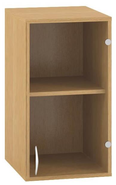 ALFA 500 Skříň 400x458x717, Nástavec, Dveře sklo p