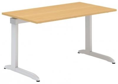 ALFA 300 Stůl kancelářský 302, Bílá