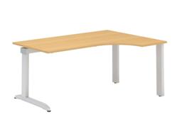 ALFA 300 Stůl kancelářský 320 Pravý, Bílá