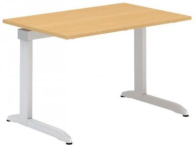 ALFA 300 Stůl kancelářský 301, Bílá