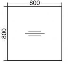 ALFA 200 Stůl kancelářský 200, Jabloň