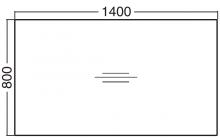 ALFA 200 Stůl kancelářský 202, Buk