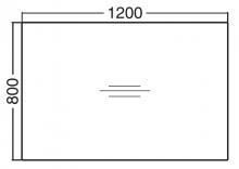 ALFA 200 Stůl kancelářský 201, Ořech