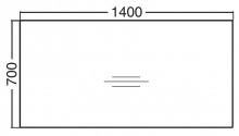 ALFA 200 Stůl kancelářský 206