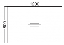 ALFA 300 Stůl kancelářský 301, Buk