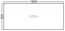 ALFA 300 Stůl kancelářský 304