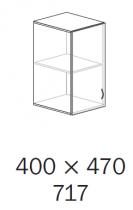 ALFA 500 Skříň 400x470x717 Nástavec Levé, D