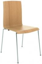 Židle ALFA 711 skořepinová, přírodní