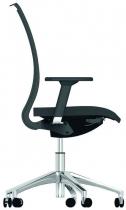Židle ALFA 741 kancelářská otočná černá