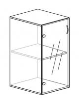 ALFA 500 Skříň 400x458x735 Dveře sklo levé,