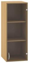 ALFA 500 Skříň 400x458x1045, Nástavec, Dveře sklo
