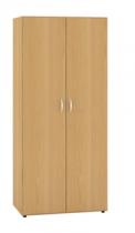 ALFA 500 Skříň 800x600x1780 Policová 1/2 Šatní tyč