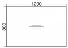 ALFA 400 Stůl konferenční 401, Bílá