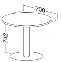 ALFA 400 Stůl konferenční 406