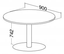 ALFA 400 Stůl konferenční 407