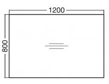 ALFA 100 Stůl kancelářský 101, Divoká hrušk