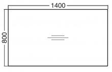 ALFA 100 Stůl kancelářský 102, Buk