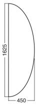 ALFA 100 Přísed 1625x450x25, Jabloň