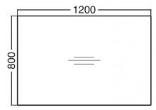 ALFA 300 Stůl kancelářský 301, Divoká hrušk