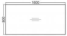 ALFA 300 Stůl kancelářský 303, Buk