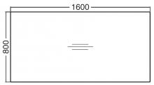 ALFA 400 Stůl konferenční 403, Bílá