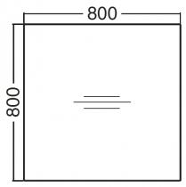 ALFA 400 Stůl konferenční 400, Bílá