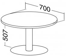 ALFA 400 Stůl konferenční 408