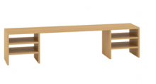 ALFA 500 Nástavec na stůl 1600x320x360