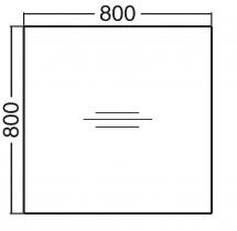 ALFA 100 Stůl kancelářský 100, Jabloň